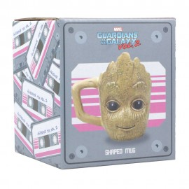 Taza Groot 3D - Guardianes...