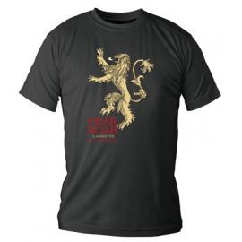 Camiseta Lannister Negra -...