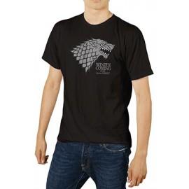 Camiseta Stark Negra -...