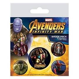 Set Chapas - Avengers...