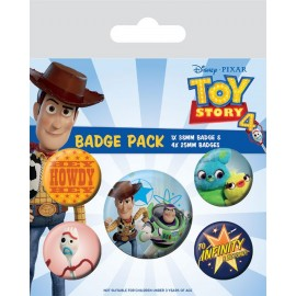 Set Chapas - Toy Story (5...