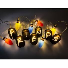 Friends Cadena de luces 2D...