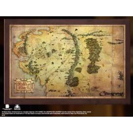 Mapa de la Tierra Media...