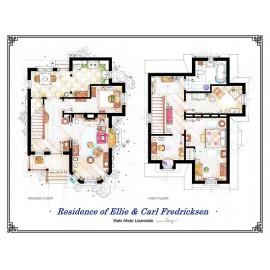 UP! [Ilustración] Plano Casa