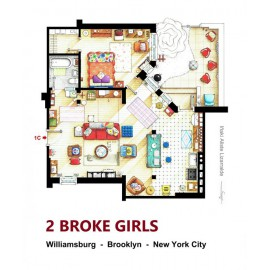 2 BROKE GIRLS [Ilustración]...