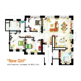 NEW GIRL [Ilustración]...