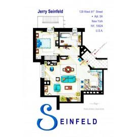 SEINFELD [Ilustración] Plano Apartamento