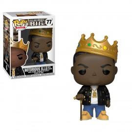 Pop! Rocks [77] - Notorious B.I.G. With Crown