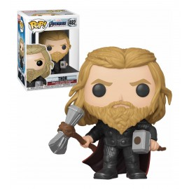 """Pop! Marvel [482] Thor With Hammer And Stormbreaker """"Vengadores: Endgame"""" (Exclusive)"""