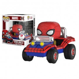 Pop! Rides [51] - Spider-Man With Spider Mobile