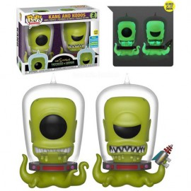 Pop! Television [2 PACK] - Kang And Kodos (Glow In The Dark) (Summer Convention 2019)