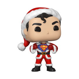 Pop! Heroes [353] - Superman in Holiday Sweater