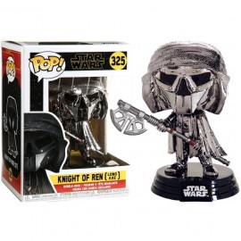 Pop! Star Wars [325] Knight of Ren (Long Axe) (Chrome)