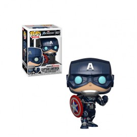 Pop! Games [627] Captain America (2020 Video Game)