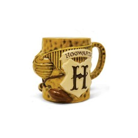 Taza Shaped 3d Quidditch -...